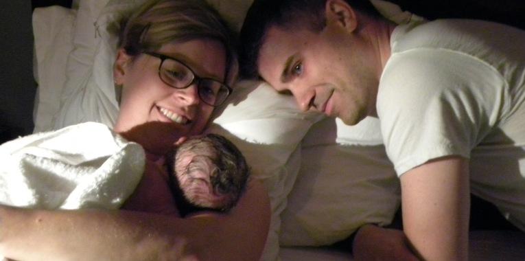 Erin Birth Photo